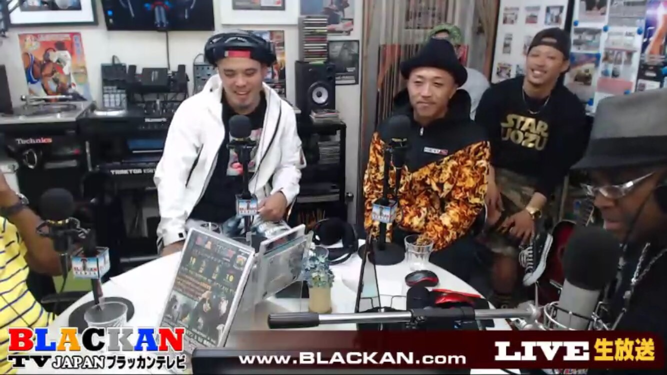 BLACKAN RADIO大阪LIVE 昭和の兄弟 シバキマン